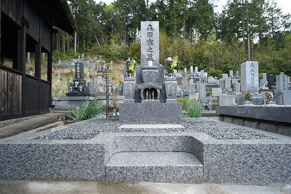 墓石洗浄9